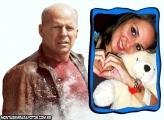 Moldura Bruce Willis