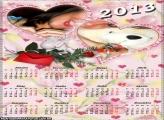 Paixão Calendário 2013 Moldura