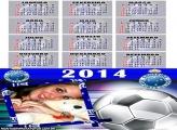 Calendário 2014 do Cruzeiro