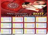 Calendário 2017 Coração Corinthiano