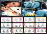 Calendário Avatar o Filme 2016