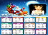 Calendário 2018 Online do Papai Noel