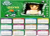 Calendário 2018 Palmeiras Papagaio