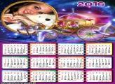 Calendário Carruagem de Princesa 2016