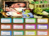 Calendário 2015 Fiona e Shrek