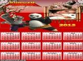 Calendário Kung Fu Panda 2013