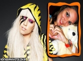 Moldura Beautiful Lady Gaga