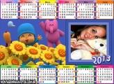 Calendário Pocoyo 2013
