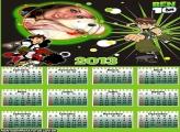 Calendário Ben 10 Alien 2013