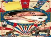 Moldura Circo Vintage