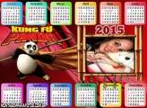 Calendário 2015 Kung Fu Panda