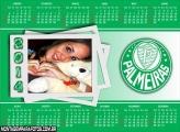 Calendário 2014 Palmeiras