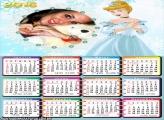 Calendário Ciderela 2016 Disney Princesa