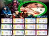 Calendário 2017 Descendentes o Fime