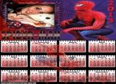 Calendário Sipider Man 2013