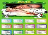 Calendário 2015 Snoopy