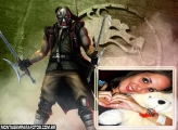 Moldura Kabal Mortal Kombat