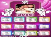 Calendário 2015 Gatinha Marie
