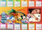 Calendário Disney Baby 2016 Horizontal
