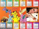 Calendário do Pokémon 2014