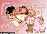 Casal de Ursinho Apaixonados