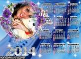 Calendário Azul 2014