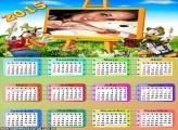 Calendário 2015 Pintura Quadro