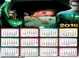 Calendário Lanterna Verde 2016