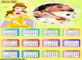 Calendário 2015 Bela Princesa