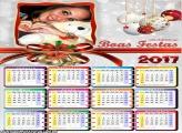 Calendário 2017 Boas Festas