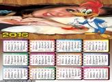 Calendário do Pica Pau 2016