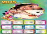 Calendário 2015 Gato Minnie