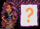 Moldura Clawdeen Monster High