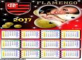 Calendário 2017 Flamengo Time do Coração