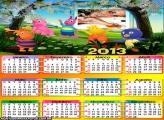 Calendário 2013 Backardigans