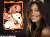Moldura Jessica Biel