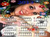 Moldura Calendário Inteiro 2013