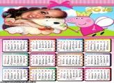 Calendário Peppa Pig Fadinha 2016