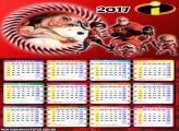 Calendário 2017 Família Incrível