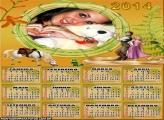 Calendário 2014 Rapunzel