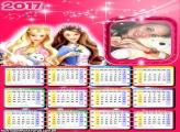 Calendário 2017 Boneca Barbie