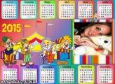 Calendário 2015 Palhacinhos