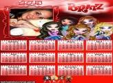 Calendário Garotas Bratz 2013