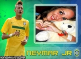 Moldura Neymar Jr Brasil