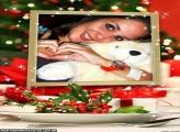 Moldura Prato na Ceia de Natal