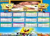 Calendário Bob Esponja 2013