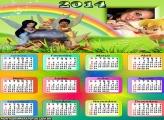Calendários 2014 Fadas Disney