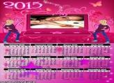 Calendário 2015 Notebook  Barbie