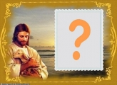 Moldura Grátis Jesus Cristo