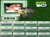 Calendário 2013 Ben 10